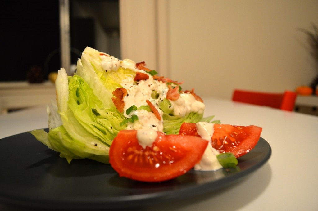 Blue Cheese Wedge Salad - 3