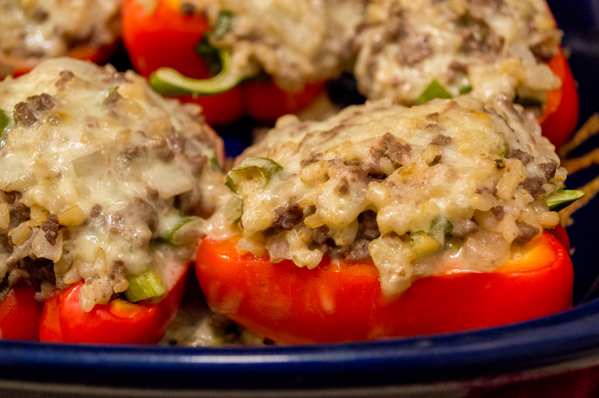 The best recipes: peppers stuffed with meat and rice 11